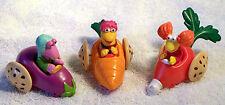 1988 McDonald's Fraggle Rock Toys - Gobo Fraggle, Red Fraggle,  Mokey Fraggle