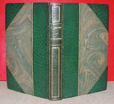 PAUL HERVIEU - L'inconnu - 1887  LEMERRE - Edition originale relié demi-maroquin