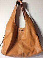 Kenneth Cole® Super Soft Faux Leather Brown Satchel Handbag Purse Lightweight