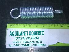 molla a trazione acciaio armonico zincata L80 mm - ø 18mm - filo 2,6 mm 98154