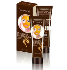 TECHAMOR Gold Collagen Peel off Facial Mask Britening Witening Anti-wrinkle 120g