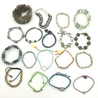 Lot of 18 Ready To Wear Vintage & Costume Bracelets