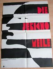 Peter Strauss THE JERICHO MILE original 1 sheet East German movie poster1982