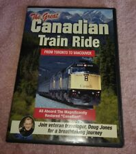 The Great Canadian Train Ride DVD From Toronto To Vancouver Doug Jones