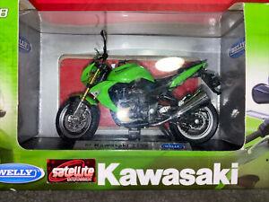 Welly Kawasaki 2007  Z1000 1:18 Scale Diecast Motorcycle
