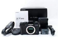 Fujifilm X-T20 24.3MP Mirrorless Digital Camera - Black [Exc+++++] From JAPAN