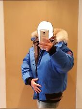 GREY LABEL EDITION POLAR BEAR CANADA GOOSE BLUE LABEL PBI CHILLIWACK XL PARKA