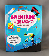 Inventions In 30 Seconds by Dr Mike Goldsmith - Brand New Paperback