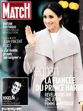 PARIS MATCH  N° 3596. avril 2018. MEGHAN LA FIANCEE DE HARRY / HIGELIN / PLACE