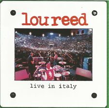 Live in Italy * by Lou Reed (CD, 2013, RCA) Import