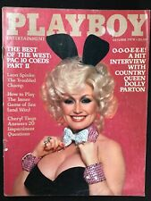 Playboy Magazine October 1978. Dolly Parton. Free Shipping