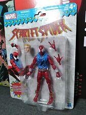 Marvel Legends scarlet spider spiderman ben reilly retro vintage card