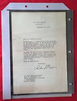 Richard Nixon Letter/Book Dr. Eric E. Williams PM Of Trinidad - 1972
