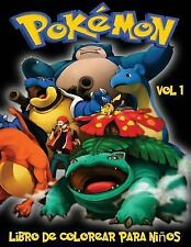 Pokemon Libro de Colorear para niños Volume 1 : En Este Tamaño A4 Volumen 1...