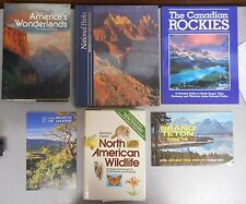 North American Wildlife National Parks 6 book lot Wilderness Area Outdoor