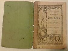 OTTONE BRENTARI RACCONTI DI STORIA PATRIA CLASSE V ELEMENTARE 1900 M-1