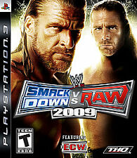 Wwe Smackdown Vs. Raw 2009 PLAYSTATION 3 (PS3) Sports (Video Game)
