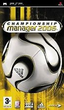 CHAMPIONSHIP MANAGER 2K6 2006 SOCCER GAME FOR PSP PORTABLE NEW UNSEALED