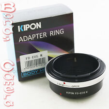 Kipon Canon FD mount lens to Canon EOS M EF-M Mount Mirrorless Camera Adapter
