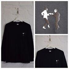 Actual Fact Pulp Fiction Dance Black Long Sleeve Tee T-shirt