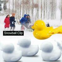 2Pcs Duck Snowball Clip Winter Snow Ball Maker Sand Mold Sport Kids Outdoor Toy