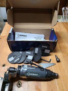 "Pneumatic Kobalt 3"" Cut Off Tool  OPEN BOX WITH 5 CUTTING DISCS"