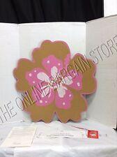 Pottery Barn Kids Pink Surf Aloha Message Board frame Corkboard Flower photo art