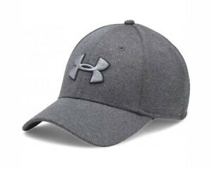 Under Armour UA 1283151 Mens Heathered Blitzing Cap BASEBALL HAT M/L GRAY 001