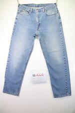 Levi's 615 Boyfriend(Cod. M1444)tg50 W36 L30 jeans Vita Alta usato vintage Zampa