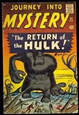 Journey Into Mystery #66 VG/VG+ Hulk Prototype Kirby Ditko Atlas Comics