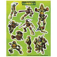 Teenage Mutant Ninja Turtles Stickers 4 Sheets Favors TMNT