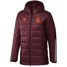 adidas Men's Real Madrid Winter Jacket Outdoor Garnet Apparel Outdoor NWT FQ7890
