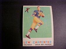 1959  TOPPS  FOOTBALL  #95  CARPENTER   NM-MT