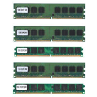 1/2GB DDR2 533 667 800Mhz PC2-4200/5300/6400U DIMM 240Pin Desktop Memory RAM BE