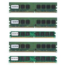 1/2GB DDR2 533 667 800Mhz PC2-4200/5300/6400U DIMM 240Pin Desktop Memory RAM BE