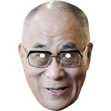 Dalai lama budista Celebridad Tarjeta Máscara Máscaras Pre Corte Con Elástico