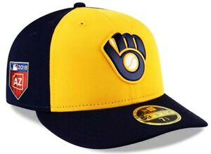 Milwaukee Brewers 5950 Spring Training Low Profile Prolight Cap Hat by New Era