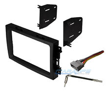 CAR TRUCK STEREO RADIO DASH INSTALLATION TRIM BEZEL KIT WITH WIRING HARNESS