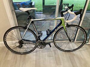 2012 Cannondale SuperSix Carbon 105 Road Bike 56CM
