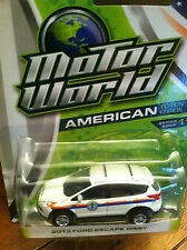 Greenlight MOTOR WORLD  2013 Ford Escape New York Dept. Sanitation.   ON SALE!