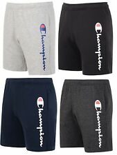 New Mens Champion Cotton Sweat Shorts Pants Sports Gym Summer Knee Length