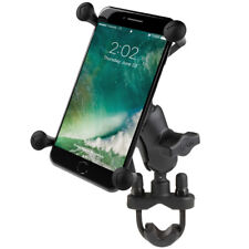 RAM Handlebar Rail Short with X-Grip Holder for Plus Size Cell phones iPhone GPS