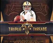 2014 TOPPS TRIPLE THREADS FOOTBALL HOBBY SEALED BOX