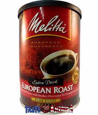 Melitta Extra Dark European Roast Dark Roast Ground Coffee 298g Tin