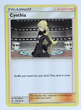 Pokemon Card - Cynthia - 119/156 - Ultra Prism - Trainer