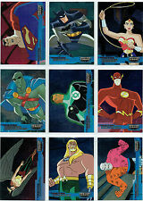 JUSTICE LEAGUE PREMIUM COMPLETE SET OF 18 FOIL CARDS