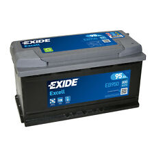 1x Exide Excell 95Ah 800CCA 12v Type 017 Car Battery 3 Year Warranty - EB950