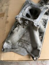 EDELBROCK TORKER II 289 Intake Manifold 2755 With Thermostat Housing.