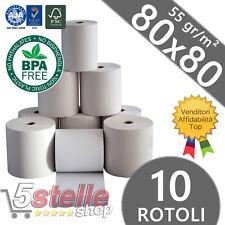 80 80mm x 80mm 80x80mm privo di BPA carta termica fino a Epos stampante ricevuta ROLLS