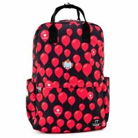 LOUNGEFLY X IT I HEART DERRY BALLOONS AOP NYLON BACKPACK itbk0002 Pennywise